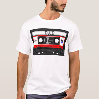 Dad - The Man. The Myth. The Legend. Cassette Tape T-Shirt