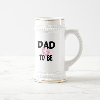 Dad to Be (girl) Beer Steins