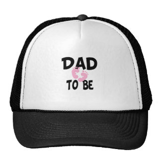 Dad to Be (girl) Trucker Hat