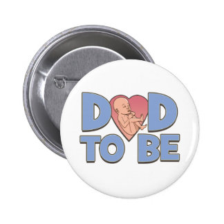 Dad to Be Maternity 6 Cm Round Badge