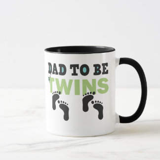 Dad To Be of Twins Mug