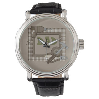 Dad watch or add a custom name with tools