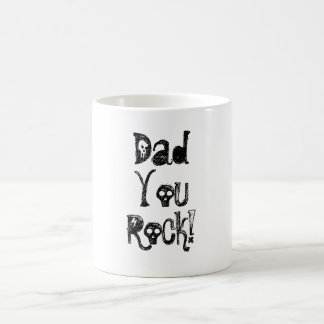 Dad , You, Rock!-Morphing Mug