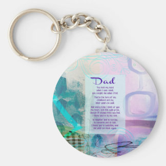 Dad, You Stood Beside Me - Sympathy Key Ring