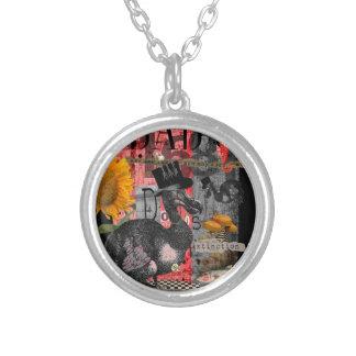 Dada Dodos Silver Plated Necklace