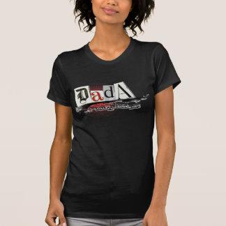 DADA Ladies Vintage Black Distressed TShirt