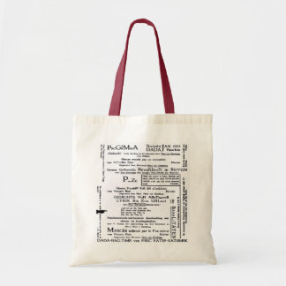DADA PROGRAMME SOIREE Tote Bag
