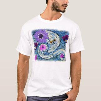 Dada Star & Plane Landscape (Flowers Shine Bright) T-Shirt