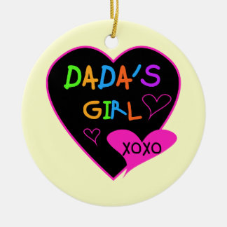 Dada's Girl T-Shirt, Mug, Button, Magnet, More Ceramic Ornament