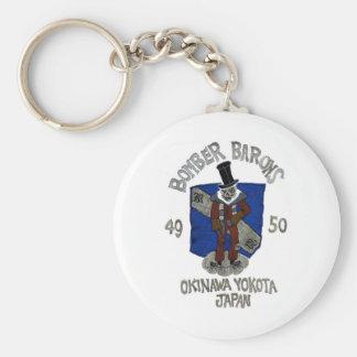 Dadawan Baron Japan skull Basic Round Button Key Ring