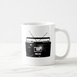 Dadawan Ghettoblaster boombox 1980 Basic White Mug