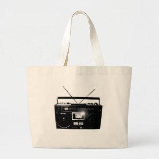 Dadawan Ghettoblaster boombox 1980 Jumbo Tote Bag