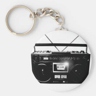 Dadawan Ghettoblaster boombox 1980 Key Chain