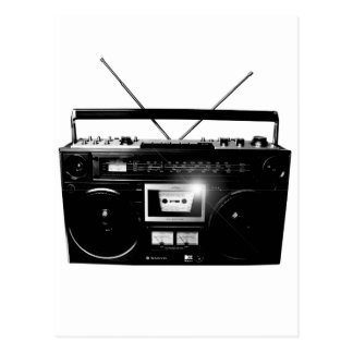 Dadawan Ghettoblaster boombox 1980 Post Cards