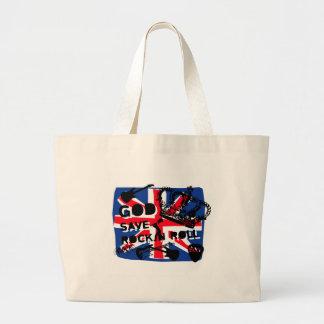 Dadawan God save Rock'n'Roll Canvas Bag