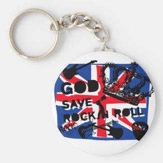 Dadawan God save Rock'n'Roll Key Ring