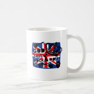 Dadawan God save Rock'n'Roll Basic White Mug