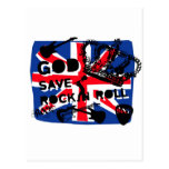 Dadawan God save Rock'n'Roll Postcard