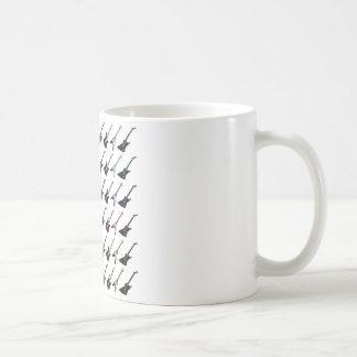 Dadawan guitar heroe rock band coffee mug