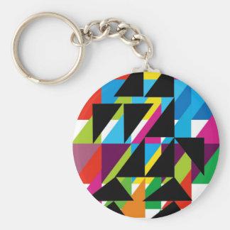 Dadawan Holiday illustration Basic Round Button Key Ring