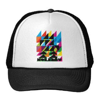 Dadawan Holiday illustration Trucker Hats