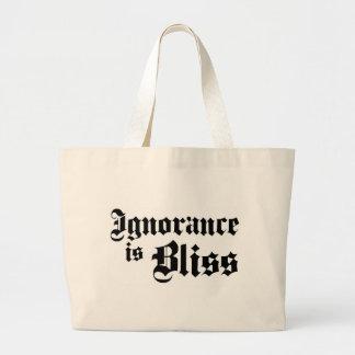 Dadawan Ignorance is bliss Canvas Bag