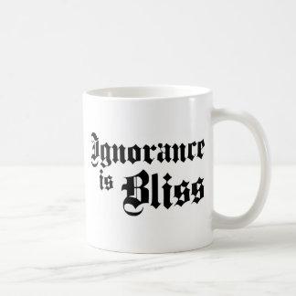 Dadawan Ignorance is bliss Basic White Mug