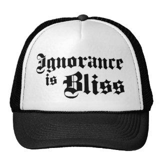 Dadawan Ignorance is bliss Trucker Hats