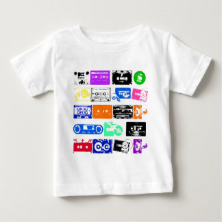 Dadawan K7 tapes vintage colors Baby T-Shirt