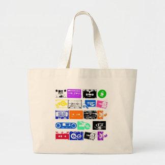 Dadawan K7 tapes vintage colors Tote Bags