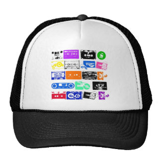 Dadawan K7 tapes vintage colors Hats
