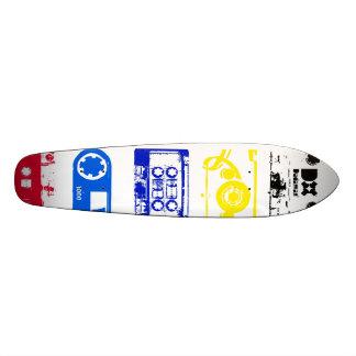 Dadawan K7 tapes vintage colors skate board