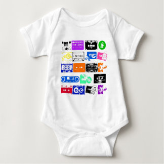 Dadawan K7 tapes vintage colors T-shirts