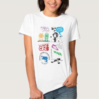 Dadawan mash up pop icons tee shirt