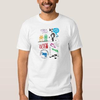 Dadawan mash up pop icons tshirt
