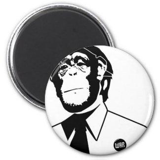 Dadawan monkey business 6 cm round magnet