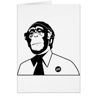 Dadawan monkey business greeting card