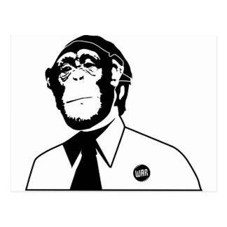 Dadawan monkey business postcard