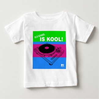Dadawan Old school is kool  vynil deck Baby T-Shirt