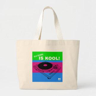 Dadawan Old school is kool  vynil deck Canvas Bags