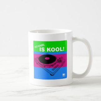 Dadawan Old school is kool  vynil deck Basic White Mug