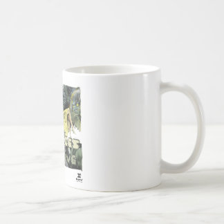 Dadawan Only zombies will survive Basic White Mug