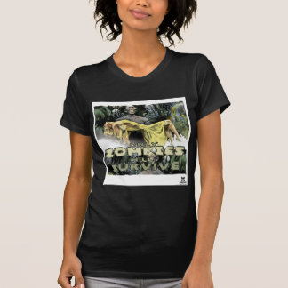 Dadawan Only zombies will survive Tshirts