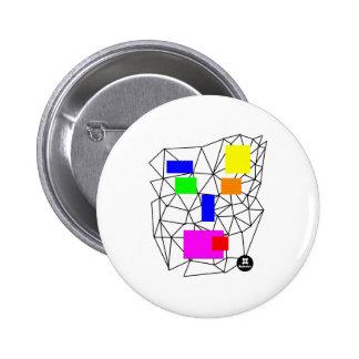 dadawan-shout 6 cm round badge