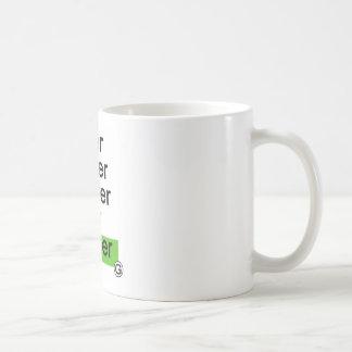 Dadawan Slower smaller smarter better greener Basic White Mug