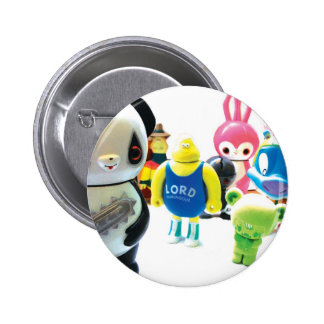 Dadawan toys are forever 6 cm round badge