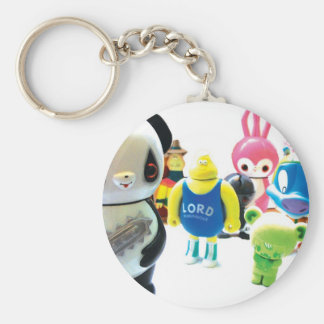 Dadawan toys are forever basic round button key ring