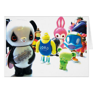 Dadawan toys are forever greeting card