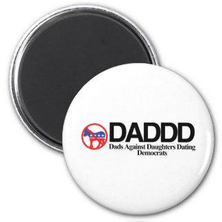 DADDD 6 CM ROUND MAGNET