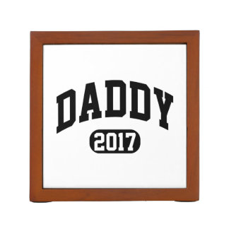 Daddy 2017 desk organiser